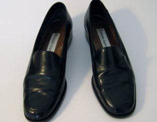 ETIENNE AIGNER Black Loafer