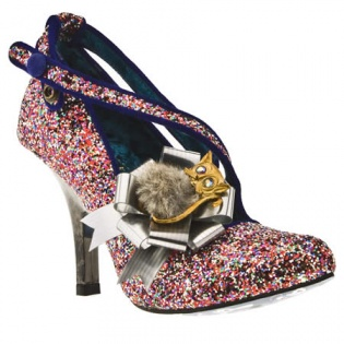 Glitter Irregular Choice Heels