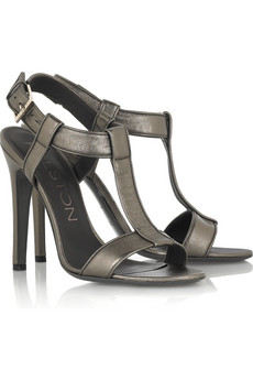 Halston Master Leather Sandals