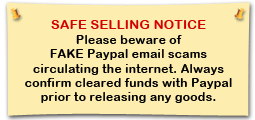 Safe Selling Notice