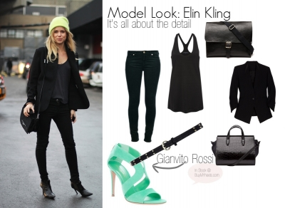 Model Off Duty Look: Elin Kling